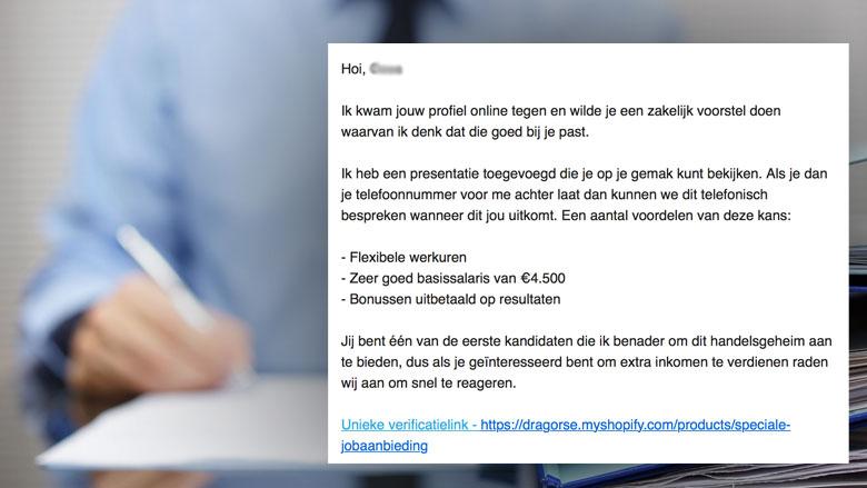 Online aanbieding met zakelijk voorstel? Let goed op!
