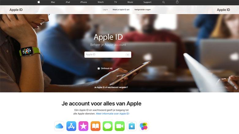 Pas op voor 'Apple ID' nepmail!