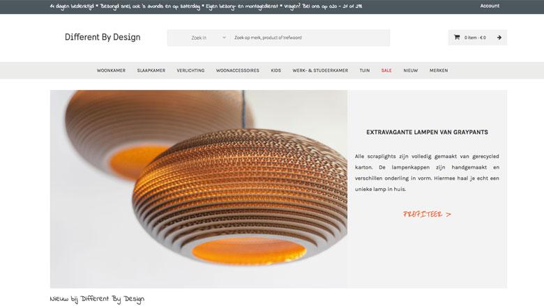 Het LMIO waarschuwt voor malafide webshop: differentbydesign.nl