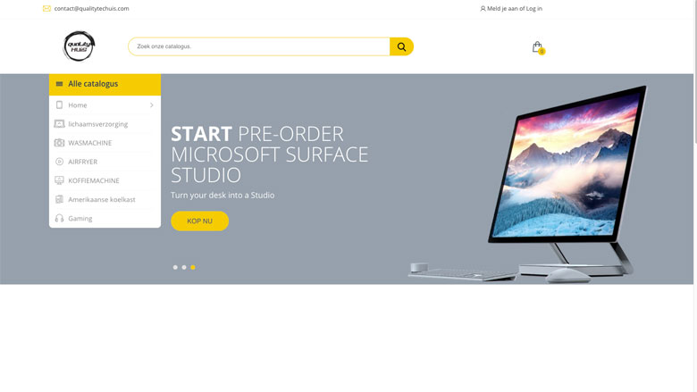 Let op! Het LMIO waarschuwt voor malafide webshop: www.qualitytechouse.com