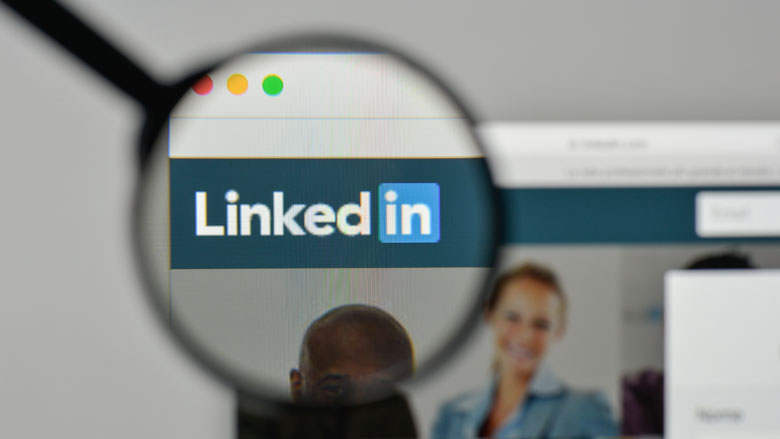Toename oplichting via LinkedIn