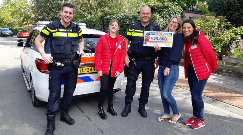 Hilversumse wint straatprijs en belt de politie wegens vermoedens van oplichting