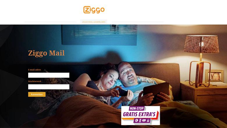 Pas op voor valse e-mails uit naam van 'Ziggo'
