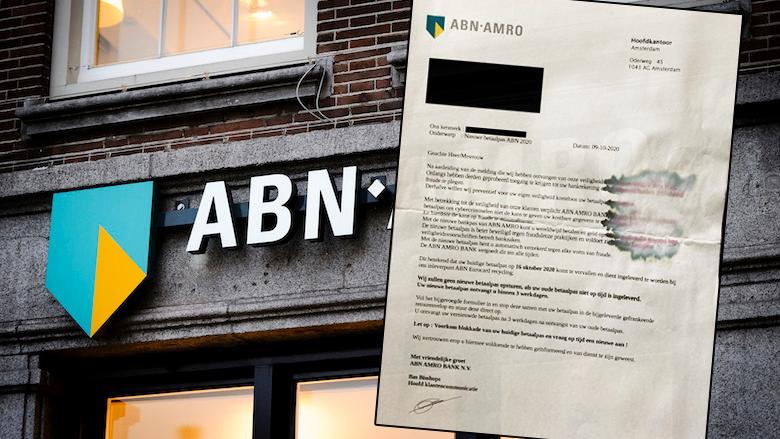 Phishing namens 'ABN AMRO': oplichters sturen klanten een échte brief