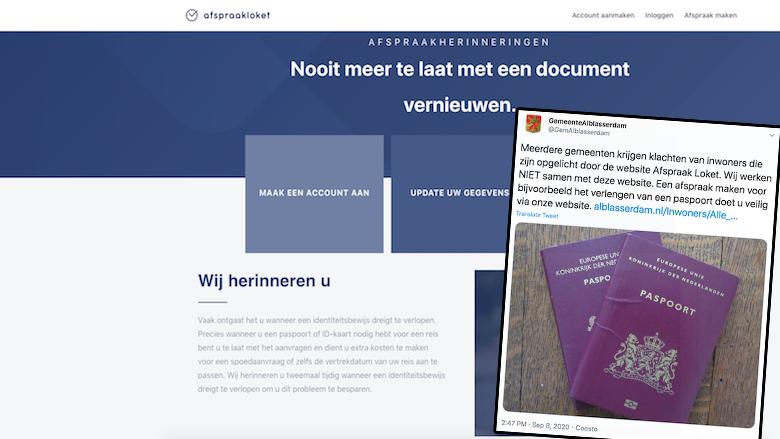 Meerdere gemeenten waarschuwen voor Afspraakloket.nl wegens oplichting met paspoorten en identiteitsbewijzen