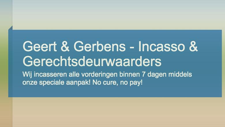 Dwangbevel van 'Gerbens Incasso & Gerechtsdeurwaarders' is nep
