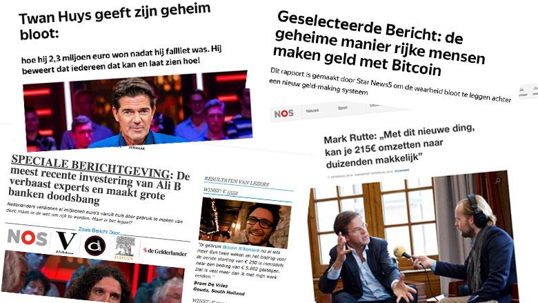Nederlands bedrijf betrokken bij bitcoinfraude via Facebook