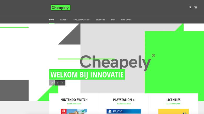 Politie: 'Koop niet bij Cheapely.nl!'