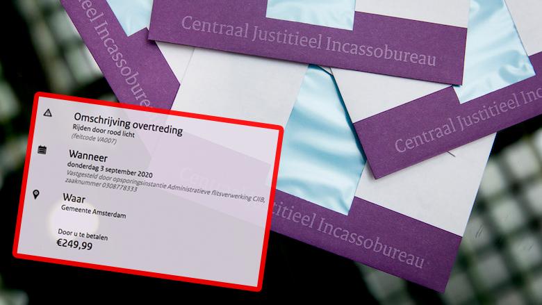 Boete van het 'CJIB' in de mail? Trap niet in deze zeer overtuigende spookfactuur