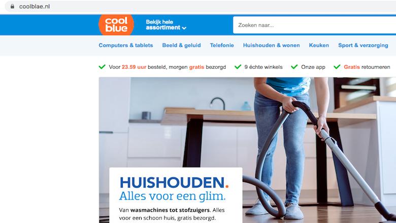 Politie waarschuwt voor Coolblae.nl