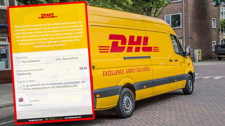Oplichters sturen sms'jes namens DHL: 'Uw pakket ligt in ons DHL-sorteercentrum'