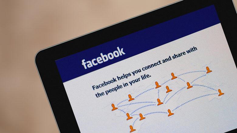 Facebook haalde mailcontacten van 1,5 miljoen gebruikers binnen