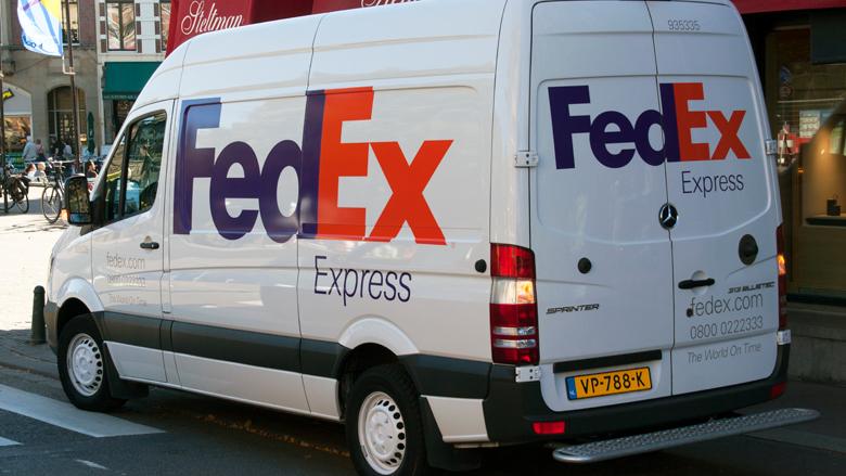 Nepmail FedEx in omloop