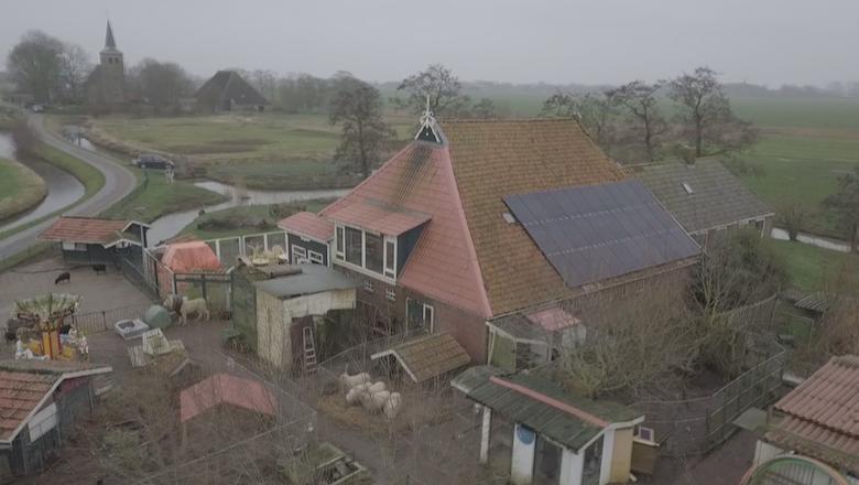 Zonnepanelen en donaties voor kinderboerderijhouder Auke de Jong