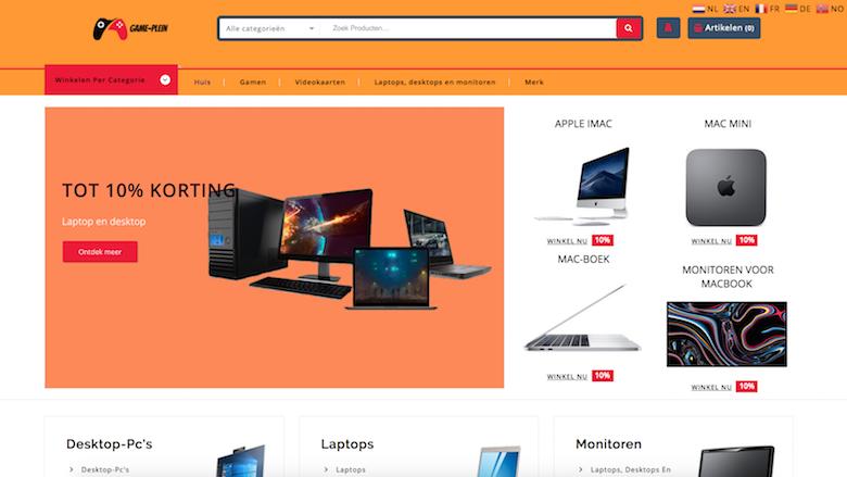 Politie: 'Game-plein.com is een onbetrouwbare, malafide webshop'