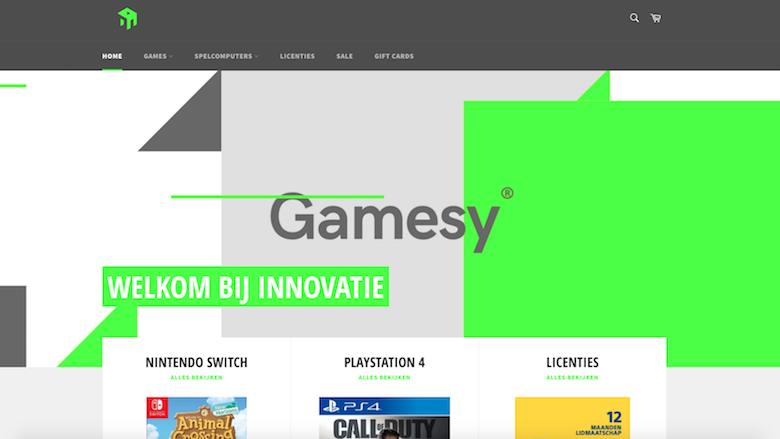 Politie: 'Koop niet bij Gamesy.nl'