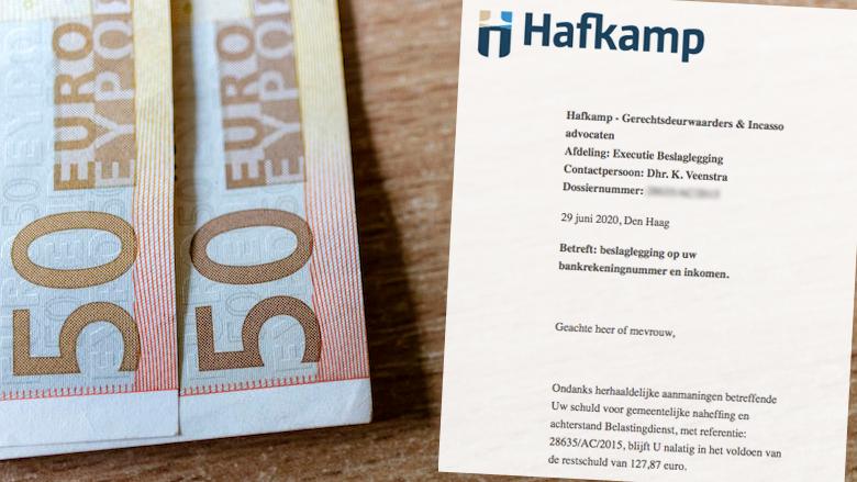 Valse beslaglegging met kenmerk 28635/AC/2015 uit naam van Hafkamp Gerechtsdeurwaarders