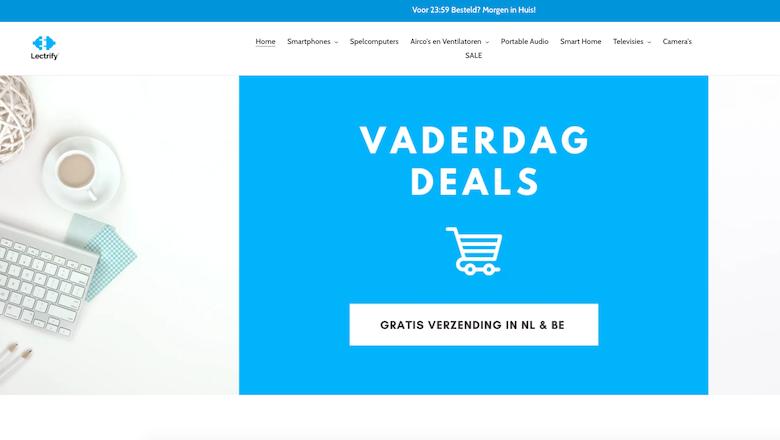Politie: 'Lectrify.nl is een malafide webshop'