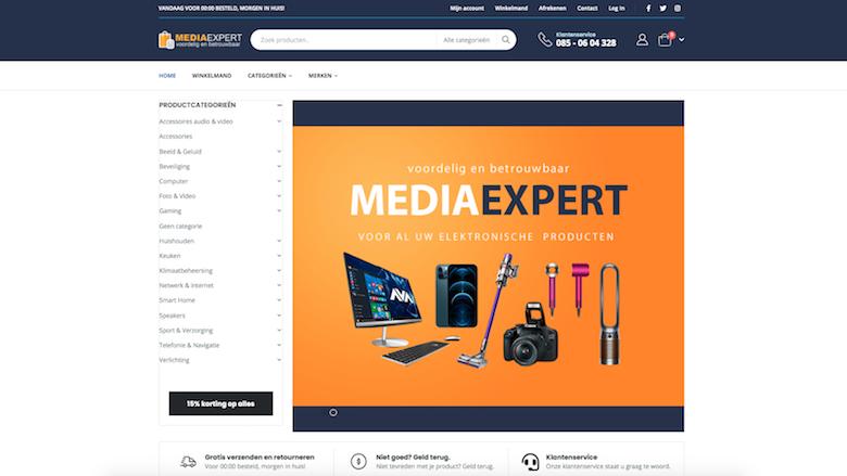 Politie: 'Mediashopexpert.nl is een onbetrouwbare webshop'