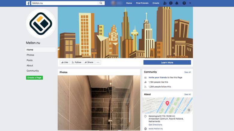 Oplichting met niet-bestaande huurwoningen via Facebook door Mellon.nu
