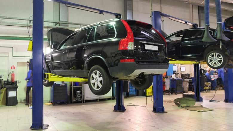 Garages en auto-onderhoud