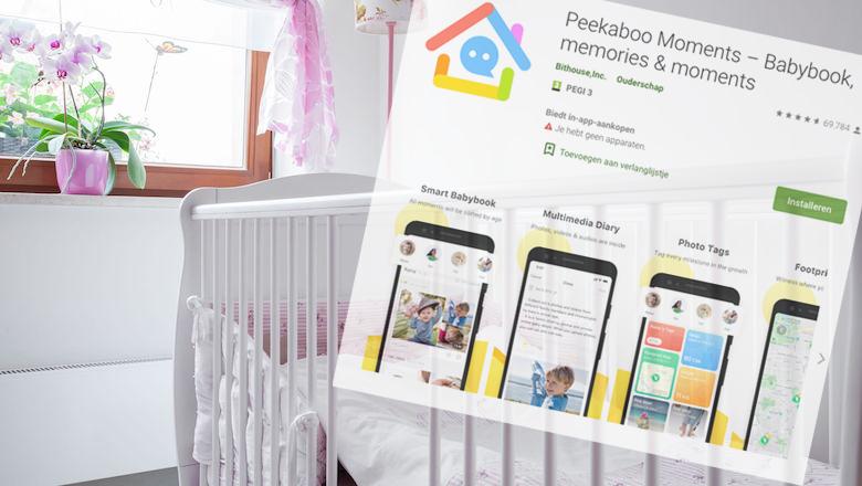 Baby-app Peekaboo Moments lekte gegevens van duizenden baby's
