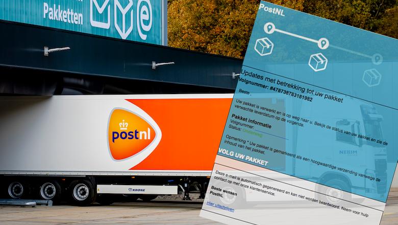 Verzendbevestiging van 'PostNL' accepteren met je creditcard? Niet doen!