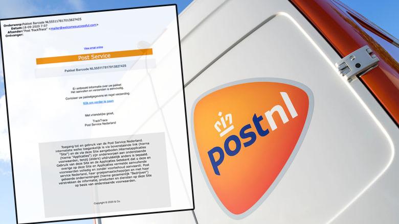 Meerdere valse mails van 'PostNL' in omloop