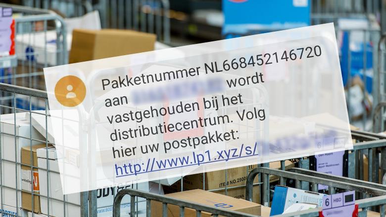 Verzendkosten betalen voor vastgehouden pakket? Dat is creditcardfraude