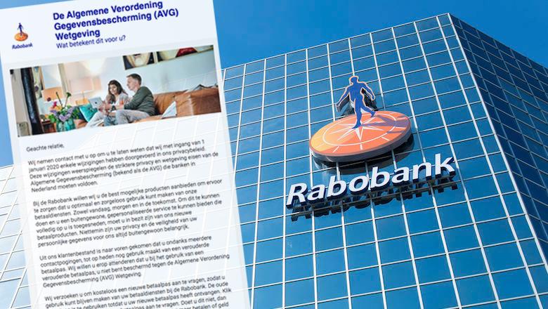 E-mail met de tekst 'Rabo Online Bankieren is vernieuwd'? Die is vals