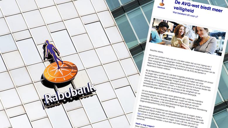 Mail van 'Rabobank' over wijzigingen AVG is vals