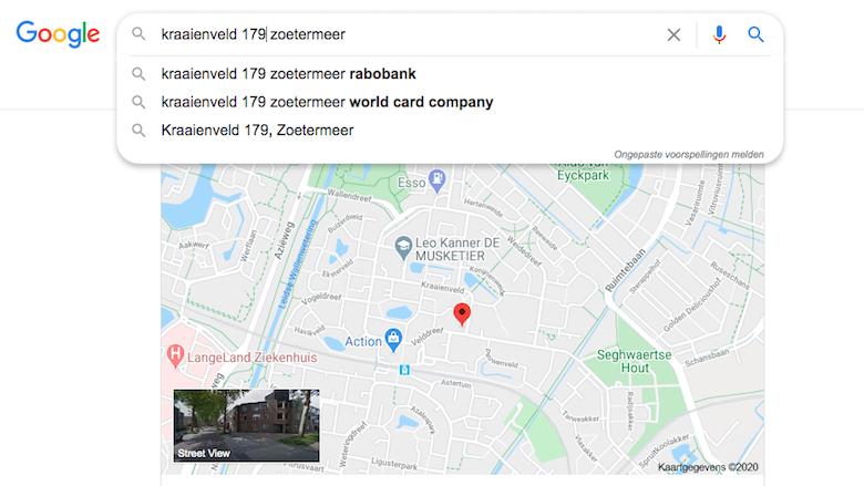 Suggesties van Google: Kraaienveld 179