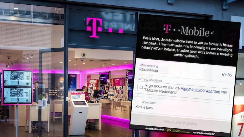Klant van T-Mobile? Let dan goed op: oplichters willen je rekening plunderen
