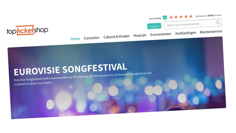 TopTicketShop haalt Songfestivalkaarten offline na ingrijpen Opgelicht?!