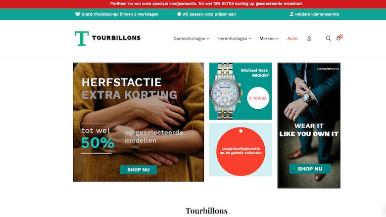Koop geen horloge bij Tourbillons.nl