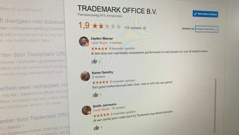 Trademark Office doet nog steeds aan dubieuze verkoop van domeinnamen