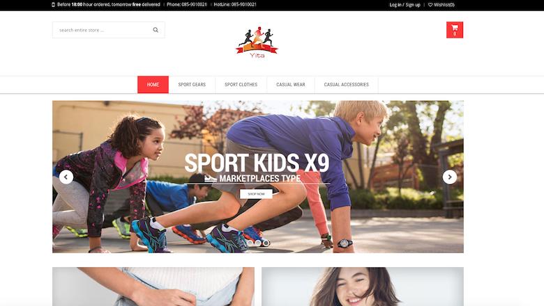 Politie waarschuwt voor sportkledingwebshop Yita.nl