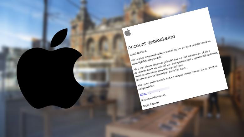 Opgelet: nieuwe, overtuigende nepmail over je 'Apple ID'