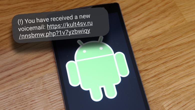 Gebruikers van Android-telefoons wéér doelwit van schadelijke FluBot-malware, nu via sms'jes over voicemailberichten