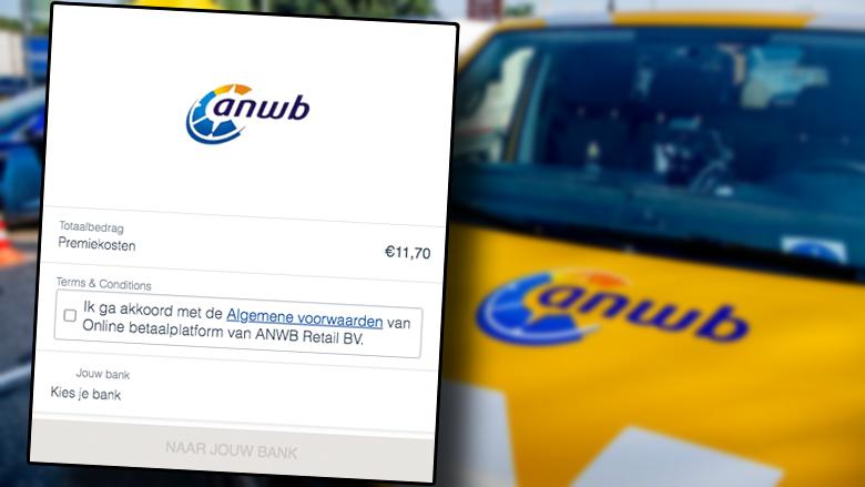 Naam van ANWB misbruikt in phishingmail: 'Uw factuur van uw ANWB lidmaatschap kon niet worden afgeschreven'