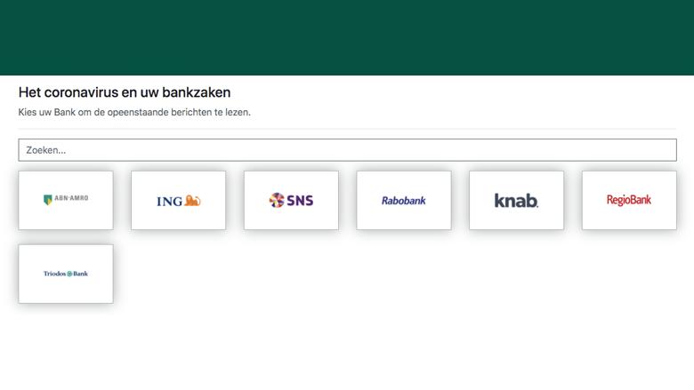 Nepsite van de 'Rijksoverheid' en 'De Nederlandsche Bank'