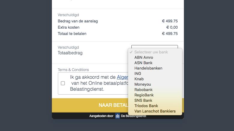 Links naar betaalverzoeken van maar liefst elf banken