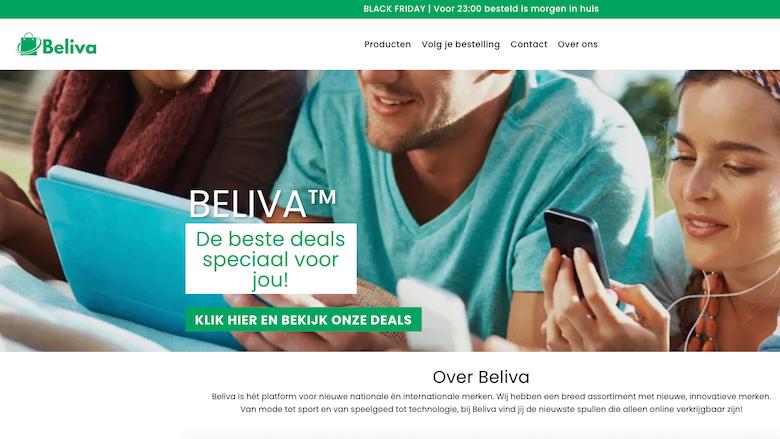 Beliva.nl. Zeg nou zelf, dat lijkt wel erg veel op Luvello.nl, nietwaar?