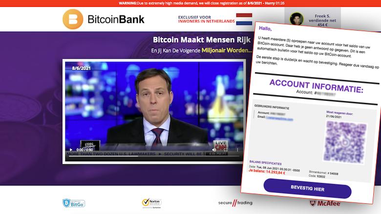 'Het saldo op uw BitCoin-account bedraagt € 14.293,84', kloppen dat soort mailtjes wel?