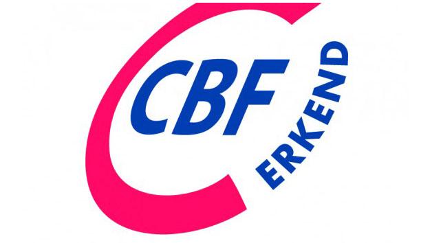 Keurmerk van CBF.