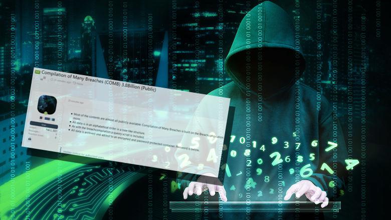 Datalek: cybercriminelen bieden 3,2 miljard inloggegevens met wachtwoorden en mailadressen aan