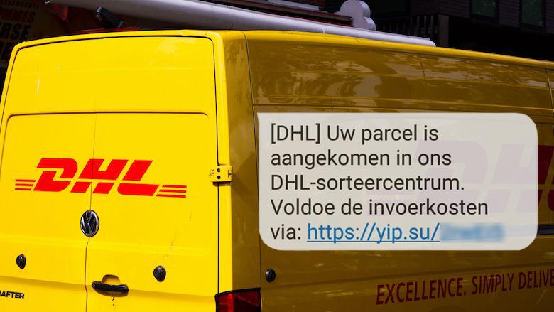 Valse sms van 'DHL' is van oplichters: 'Parcel aangekomen in sorteercentrum'