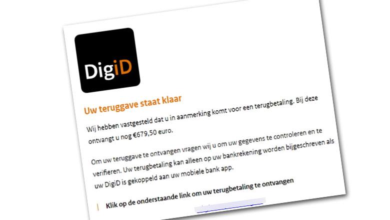 679,50 euro DigiD-teruggave? Laat je niks wijsmaken!