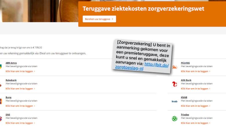 Site DigiD nagemaakt: vraag daar niet je ziektekosten terug!