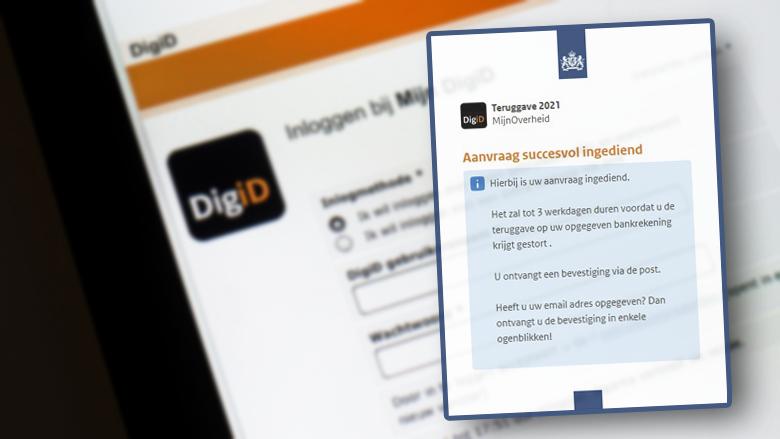 Nieuwe variant 'DigiD'-oplichtingstruc leidt mogelijk tot identiteitsfraude of bankhelpdeskfraude